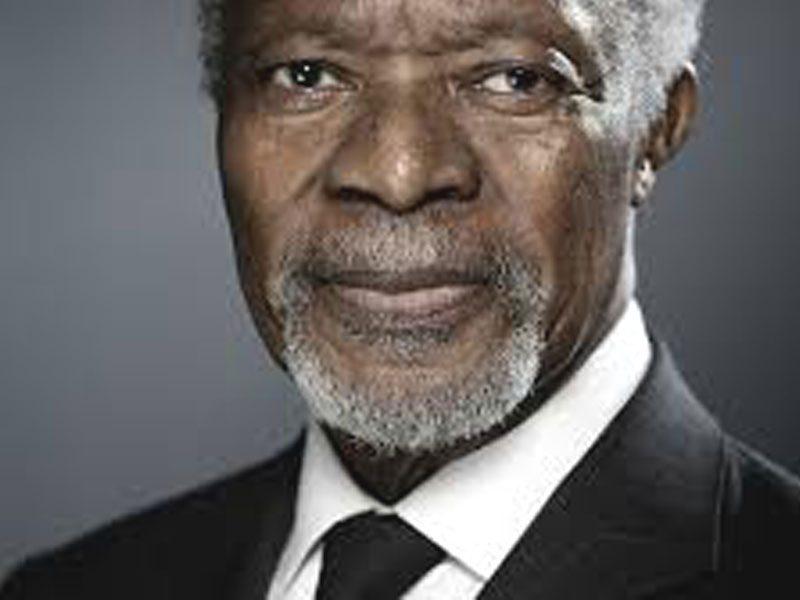 First Black African UN Secretary General Koffi Annan Dies ...