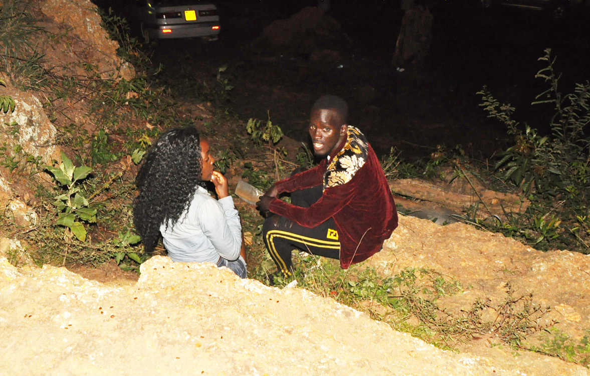 PICTURES: Security Forces Thump Couples Caught Bonking In